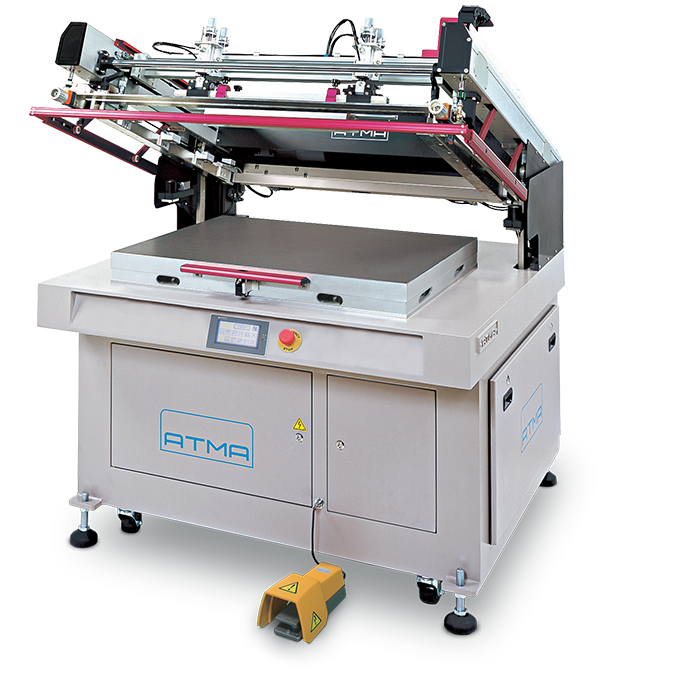 ATMA ATMECH 57 Clam-Shell Screen Printer
