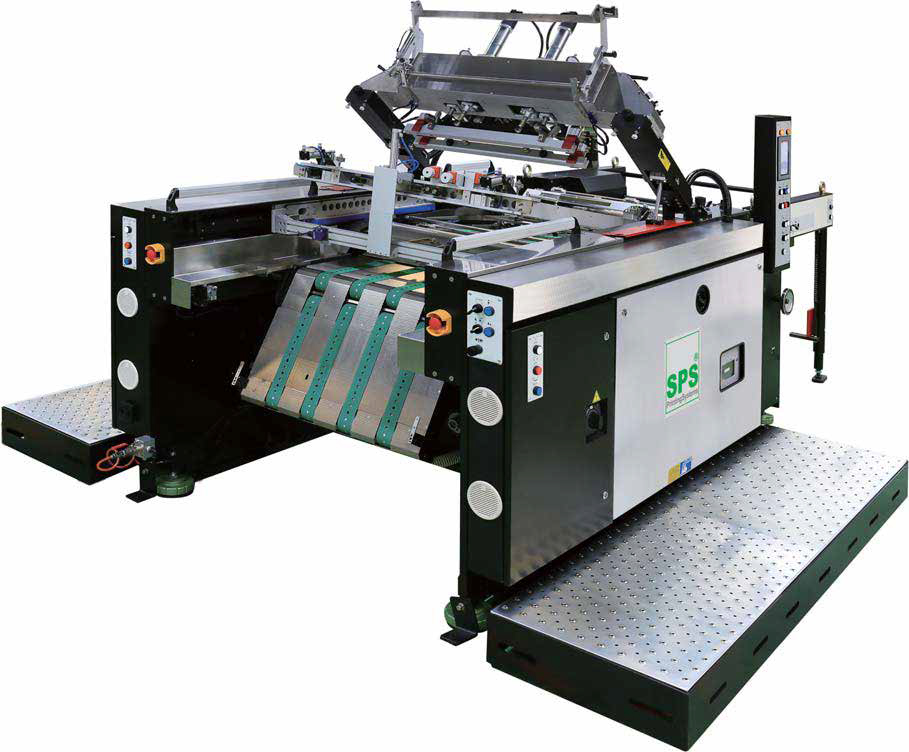 SPS VTS XP57/P Cylinder Press Screen Setup Space